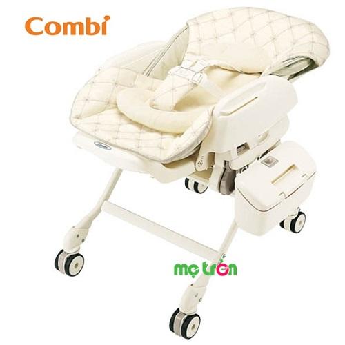 Ghế ăn Combi Fealetto Auto Swing là sản phẩm chất lượng cao cấp của thương hiệu Combi Nhật Bản. Sản phẩm được thiết kế với chức năng tự động xoay với âm nhạc với điệu nhạc du dương nhẹ nhàng. Với khả năng đung đưa tự động như một chiếc ghế rung cho bé, có thể xoay 15 phút và để cho bé có giấc ngủ dễ dàng.