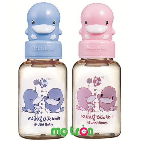 Bình sữa nhựa PES 120ml KUKU5126 với thiết kế nắp vịt đáng yêu là sản phẩm chất lượng cao cấp của thương hiệu KuKu. Với thiết kế bình sữa nhỏ gọn nhẹ, phần nắp bình sữa hình thú KuKu dễ thương. Bên cạnh đó, bình được làm từ chất liệu nhựa PES cao cấp hoàn toàn không chứa BPA gây hại cho sức khỏe của bé.