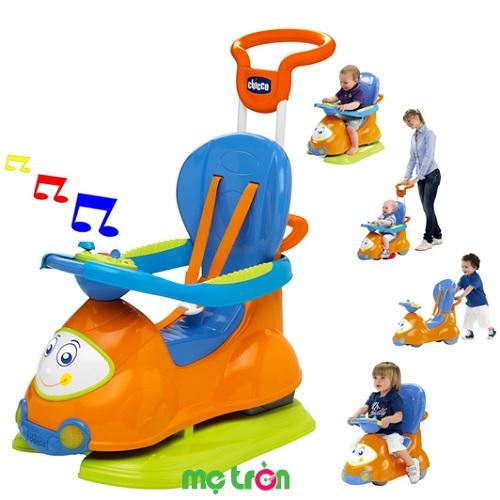 Xe chòi chân đa năng 4 trong 1 màu da cam Little Tikes-60703 dành cho bé từ 9 đến 36 tháng tuổi