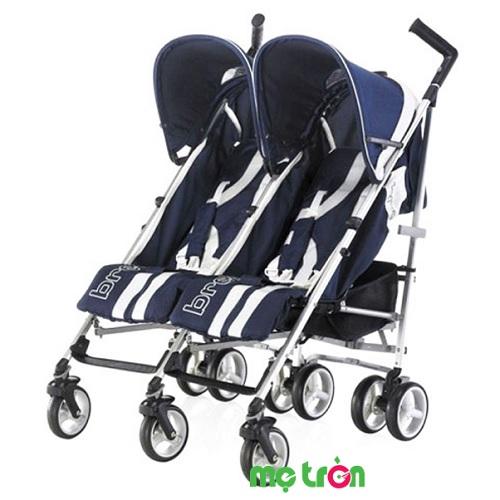 <p>Xe đẩy đôi thiết kế tiện dụng Brevi B.Flexy BRE779-239 màu xanh đen được thiết kế với kiểu dáng đặc biệt dành riêng cho những gia đình có em bé song sinh. Đây là dòng xe đẩy siêu gọn nhẹ, thuận lợi cho bạn và các bé khi sử dụng.</p>