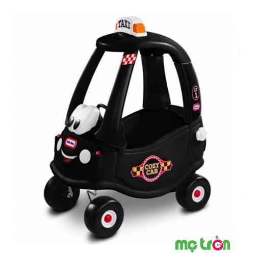 Xe chòi chân cozy mô phỏng xe taxi màu đen Little Tikes LT-172182