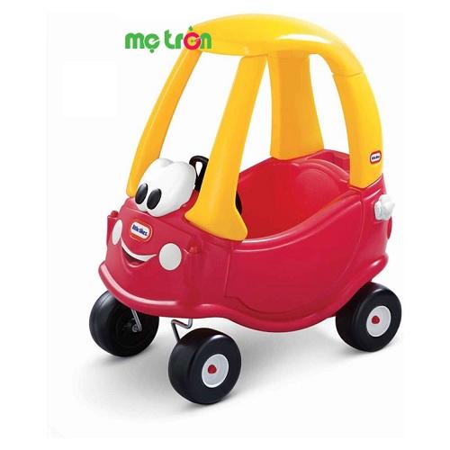 Xe ôtô chòi chân thiết kế tinh tế và hài hòa Little Tikes LT-612060 được làm từ chất liệu nhựa đúc nên rất bền và chắc, kích thước vừa phải, thích  hợp sử dụng cho trẻ chơi trong nhà và ngoài trời. Sản phẩm có màu sắc hài hòa, cùng với hình dáng xe khỏe khoắn kích thích thị giác bé, đồng thời tăng cường khả năng cầm nắm, điều khiển đồ vật từ sớm của trẻ.
