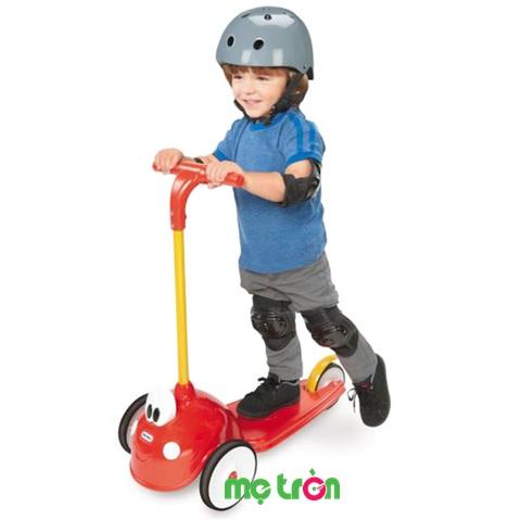 Xe trượt cho bé Scooter hình Cozy Little Tikes LT-635106 màu đỏ vàng
