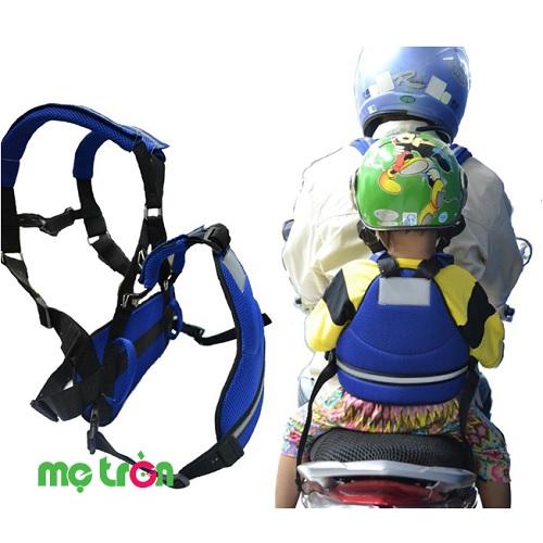 Đai song hành cho người đi xe máy Viptop là đai an toàn cho bé nhỏ hay bé lớn mang thương hiệu nổi tiếng tại Việt Nam, sản phẩm đặc biệt thích hợp dành cho trẻ đi xe máy hay ngủ gật.