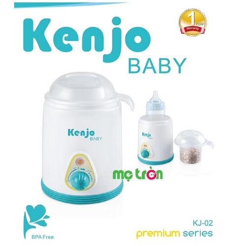<p><strong>Máy hâm nóng sữa Kenjo KJ-02</strong> là dòng sản phẩm chất lượng dùng để hâm sữa và các loại thức ăn cho bé đa chức năng và giá tốt nhất trên thị trường hiện nay mang thương hiệu từ Nhật Bản. Máy hâm nóng sữa Kenjo KJ-02 được làm từ chất liệu nhựa PP an toàn, công suất hoạt động lớn với tiêu chuẩn đạt chất lượng hàng đầu của Nhật Bản dành trẻ sơ sinh.</p>