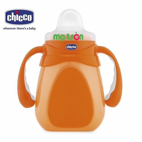 - Sản phẩm được làm từ chất liệu nhựa PP cao cấp an toàn cho bé. - Tay cầm có khấc bên trong, có tác dụng chống trơn trượt. - Nắp bình chống nhỏ giọt ngay cả khi bình dốc ngược.