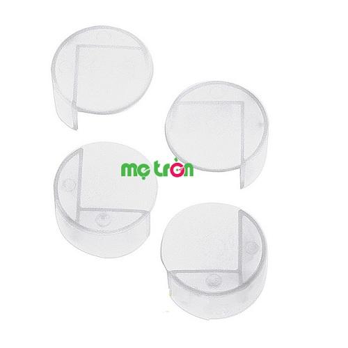 Nút nhựa mềm tròn chặn góc bàn từ Ý Brevi BRE321 được làm bằng nhựa cao cấp, mềm mại và cực kỳ an toàn với bé, đảm bảo không làm tổn hại cho làn da của bé. Hơn nữa, sản phẩm có khả năng bám dính cao giúp bám chắc chắn vào các góc bàn, ghế, tủ,...