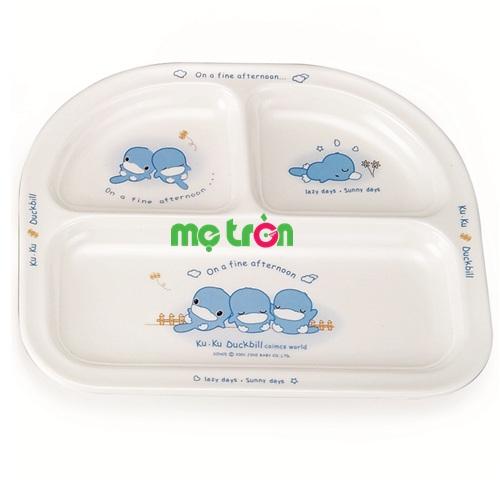- Khay ăn 3 ngăn Melamine KUKU 3003 được làm từ chất liệu nhựa cao cấp, an toàn. - Sản phẩm có độ bền cao. - Dễ dàng vệ sinh