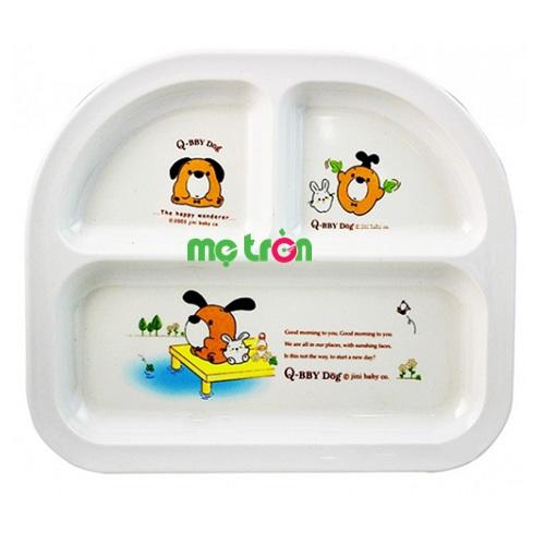 - Khay ăn 3 ngăn Melamine KuKu QB93003 được làm từ chất liệu nhựa cao cấp, an toàn. - Sản phẩm có độ bền cao. - Dễ dàng vệ sinh