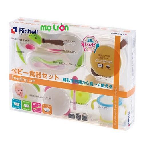 Bộ ăn dặm toàn diện cho bé Richell RC21171 - chất liệu nhựa an toàn
