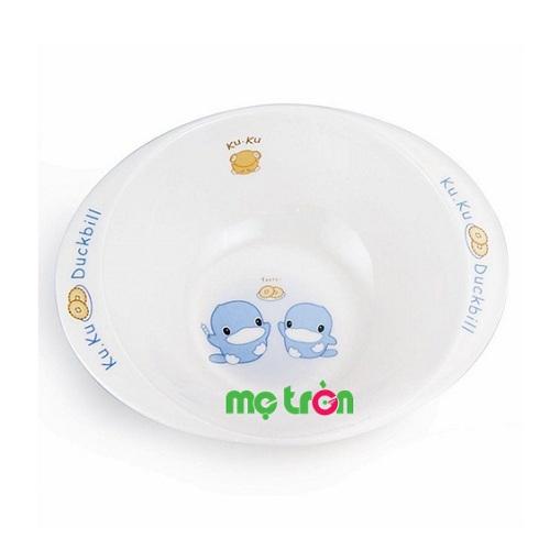 - Chén ăn cho bé có tay cầm Melamine Kuku 3002 làm từ chất liệu nhựa melamine cao cấp, an toàn - Thiết kế chén nhỏ gọn nhẹ phù hợp cho bé tập ăn. - Dễ dàng vệ sinh