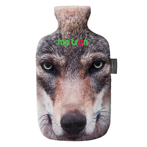 - Túi chườm Fashy hình sói xám làm từ loại nhựa dẻo, được đúc nguyên khối, không mùi và khó phai màu - Có nắp đậy túi chườm thiết kế rãnh an toàn chống rò rỉ. - Kiểu dáng hình sói xám thời trang.
