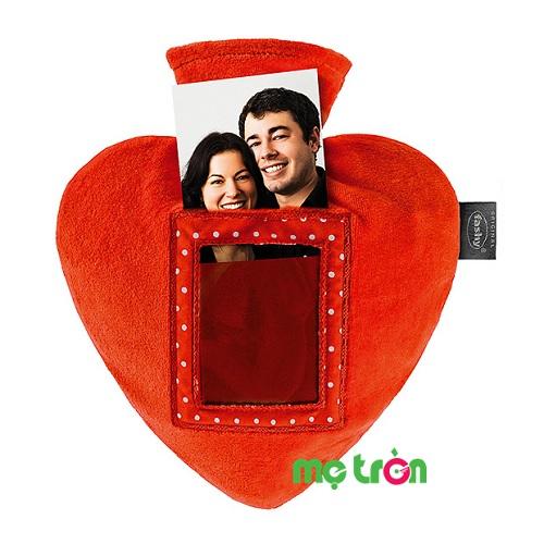 Túi chườm Fashy hình trái tim bắt mắt