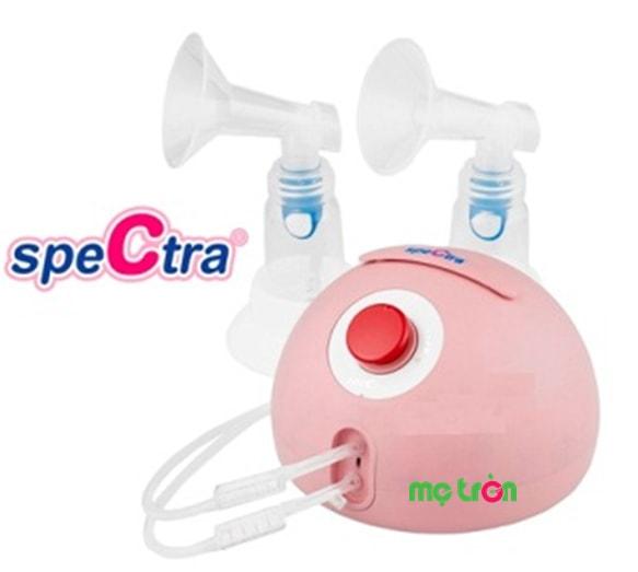 <p>Máy hút sữa điện đôi Spectra Dew350 SPT014 từ Hàn Quốc được sản xuất từ chất liệu đảm bảo an toàn tuyệt đối cho sức khỏe của mẹ và bé. Thiết kế máy vô cùng hiện đại vừa giúp kích thích tuyến sữa để sữa ra nhiều và đều hơn vừa mang đến cảm giác thoải mái và dễ chịu cho mẹ.</p>