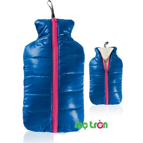 Túi chườm Fashy kiểu áo jacket màu xanh dương và xanh ngọc
