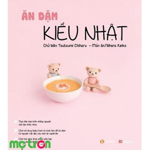 """Ăn dặm kiểu Nhật chính là cuốn sách giới thiệu tất cả những công thức nấu ăn đơn giản, đầy đủ dinh dưỡng với thời gian nhanh chóng. Và tất cả những món ăn này rất dễ làm vì nó tương đối đơn giản… Bên cạnh đó nó còn bổ sung nhiều bí quyết về thực phẩm cần có khi bé bị ốm hay bị dị ứng thực phẩm. Ngoài ra cuốn sách Ăn dặm kiểu Nhật còn trả lời những câu hỏi mà cha mẹ băn khoăn như """"nên cân bằng sữa mẹ và ăn dặm như thế nào"""" hay """"con tôi tỏ ra không thích nhiều thứ, liệu có vấn đề gì không?"""""""