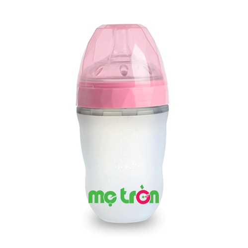 - Bình sữa Silicone Gluck MMD 240ml được làm từ chất liệu silicone và PPSU cao cấp, không BPA an toàn. - Không sử dụng hóa chất tạo sự đàn hồi. - Thiết kế bình chống đầy hơi cho trẻ.