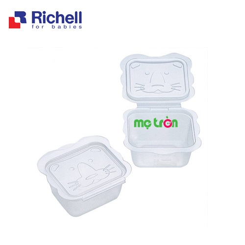 Bộ chia thức ăn Richell 3 kích cỡ cho bạn lựa chọn