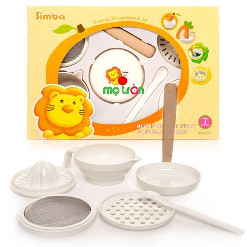 - Bộ dụng cụ chế biến thức ăn Simba 7 món S9601 làm từ chất liệu nhựa cao cấp. - Thiết kế tiện lợi - Dễ sử dụng.