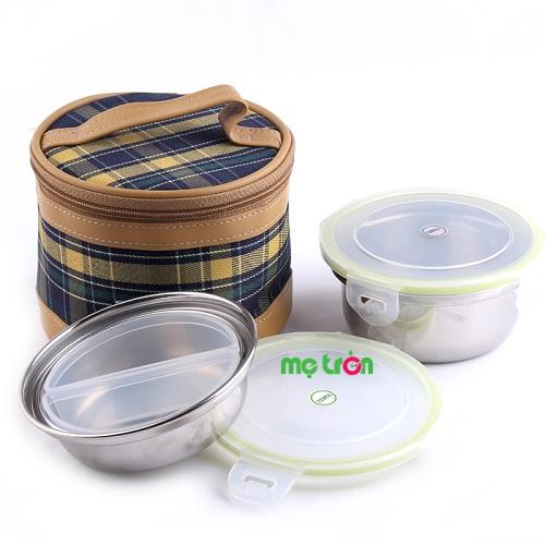 - Bộ đựng thực phẩm tròn Terra-SL1 được làm từ chất liệu nhựa cao cấp. - Bộ sản phẩm gồm 2 hộp tròn inox kèm túi. - Có nắp đậy tiện lợi