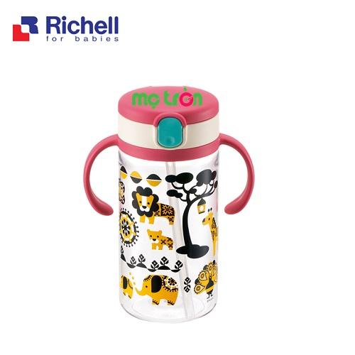 - Cốc ống hút Kinpro Richell 320ml RC21221 làm từ chất liệu nhựa cao cấp an toàn. - Có tay cầm tiện lợi, có thể tháo rời khi không sử dụng. - Có nắp đậy & gioăng chống đổ 100%.