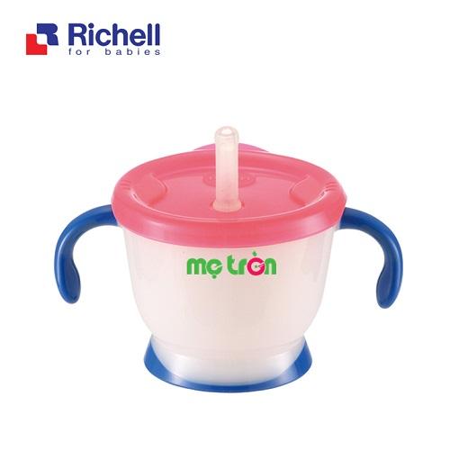 - Cốc tập uống 3 giai đoạn cho bé Richell làm từ chất liệu nhựa và silicone cao cấp. - Thiết kế tay cầm tiện lợi. - Lòng cốc láng mịn dễ chùi rửa.