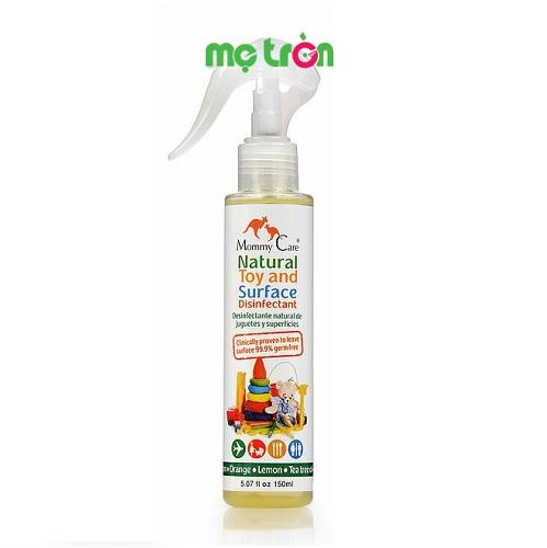 - Dung dịch tẩy rửa đồ chơi cho bé Mommy care EM035 chai 150ml được chiết xuất từ các thành phần từ hữu cơ tự nhiên. - Giúp vệ sinh đồ chơi sach sẽ, đảm bảo an toàn khi sử dụng. - Không gây hại  hay kích ứng cho da.