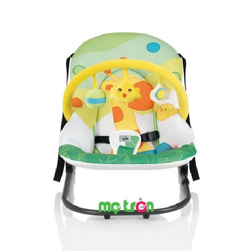 Ghế rung Cam Giocam S362 tiện lợi cho bé là dòng sản phẩm ghế ăn được rất nhiều bậc phụ huynh yêu thích lựa chọn cho bé sử dụng. Với thiết kế chắc chắn, khung ghế vững chãi và tính năng đặc biệt đó là bập bênh cho bé cảm giác thích thú.