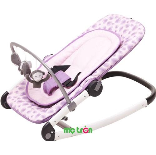 Ghế rung Coolkids CK-2522-2212 màu tím cho bé là dòng sản phẩm cao cấp chất lượng và an toàn. Sản phẩm được thiết kế với kiểu dáng tinh tế, sang trọng và màu sắc bắt mắt. Ghế được thiết kế với tính năng rung nhẹ nhàng và có thanh treo đồ chơi dễ thương giúp bé vui chơi thoải mái.