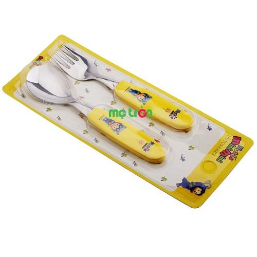 - Muỗng nĩa Terra-SK10 (85mm x210mm) làm từ nhựa PP và inox cao cấp. - Không bị rỉ sét. - Phần đầu thìa nĩa bo tròn không góc cạnh.