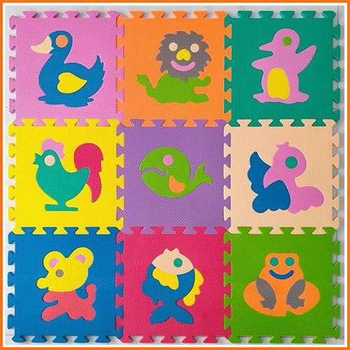 <p>Thảm xốp lót sàn bộ 10 miếng hình con vật ngộ nghĩnh (30cm x 30cm) có xuất xứ Việt Nam, gồm 10 miếng hình con vật đáng yêu với nhiều màu sắc sinh động, nổi bật bé sẽ có một không gian vui chơi và học hỏi thú vị và an toàn.</p>