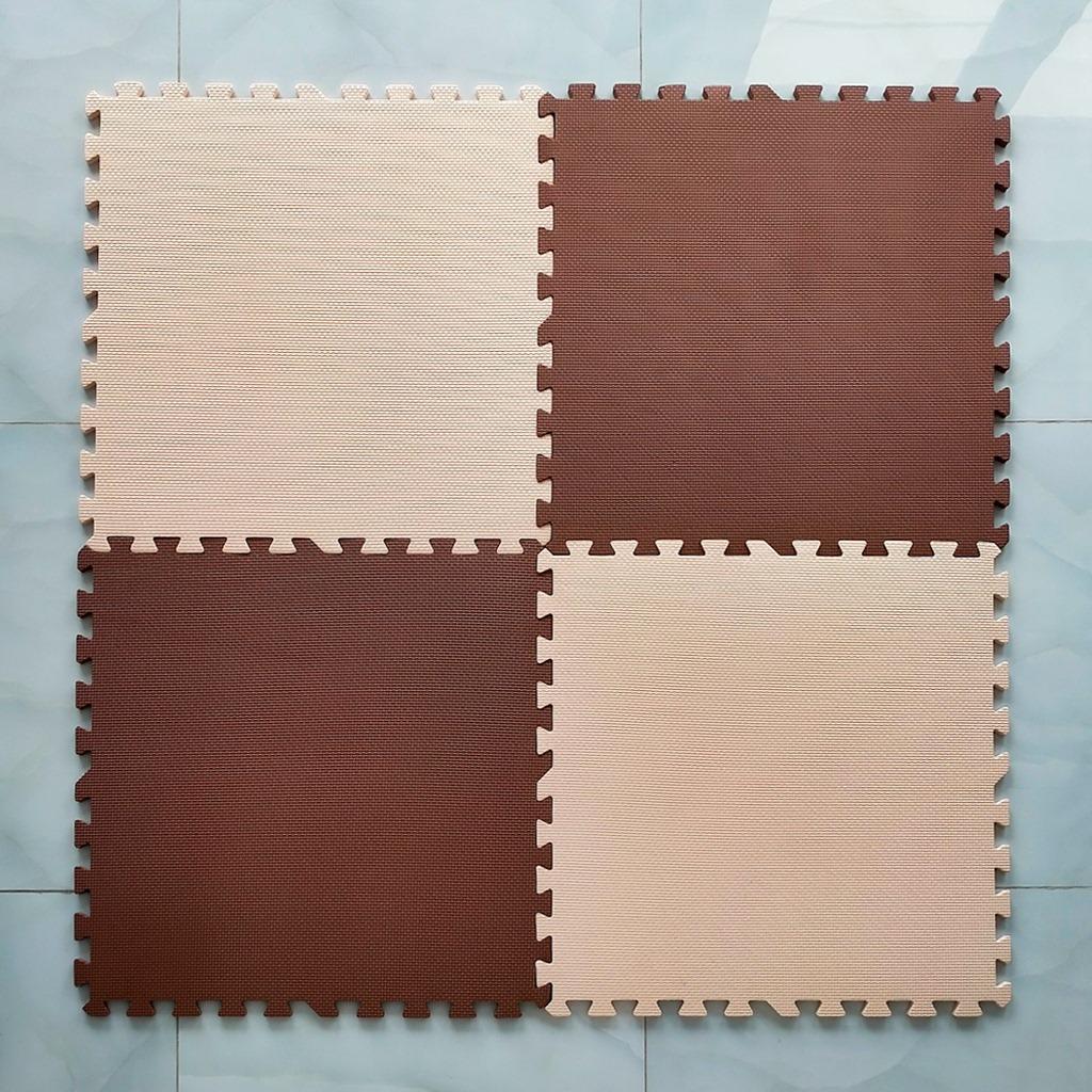 """<p><span style=""""font-family: arial, helvetica, sans-serif; font-size: 12pt;"""">Thảm xốp màu nâu, kem (1 tấm) - Kích thước 60x60x1,2cm- Màu sắc sang trọng- Giá tốt nhất thị trường</span><span style=""""margin: 0px; padding: 0px; box-sizing: border-box; font-size: 12pt; color: #000000;""""><strong style=""""margin: 0px; padding: 0px; box-sizing: border-box;"""">!!!<em style=""""margin: 0px; padding: 0px; box-sizing: border-box;"""">Giá 32.000 vnđ nay chỉ còn<span style=""""margin: 0px; padding: 0px; box-sizing: border-box; color: #ff0000;"""">25</span><span style=""""margin: 0px; padding: 0px; box-sizing: border-box; color: #ff0000;"""">.000 vnđ</span>chỉ có tại<span style=""""margin: 0px; padding: 0px; box-sizing: border-box; color: #008000;"""">metron.vn</span></em>!!!!</strong></span></p> <div style=""""margin: 0px; padding: 0px; box-sizing: border-box; color: #383838; font-family: Roboto, sans-serif; font-size: 14px;""""><span style=""""margin: 0px; padding: 0px; box-sizing: border-box; font-size: 12pt;""""><em style=""""margin: 0px; padding: 0px; box-sizing: border-box;""""><span style=""""margin: 0px; padding: 0px; box-sizing: border-box; color: #000000;""""><strong style=""""margin: 0px; padding: 0px; box-sizing: border-box;""""><span style=""""font-family: arial, helvetica, sans-serif; font-size: 16px;"""">Thảm xốp màu nâu, kem- <span style=""""color: #ff0000;"""">ĐÔ DÀY 1,2CM</span>-</span>chất liệu xốp cao cấp êm ái- Nhiều màu sắc sinh động- Bảo vệ khu vực chơi của bé- Giá tốt nhất thị trường</strong></span></em></span></div>"""