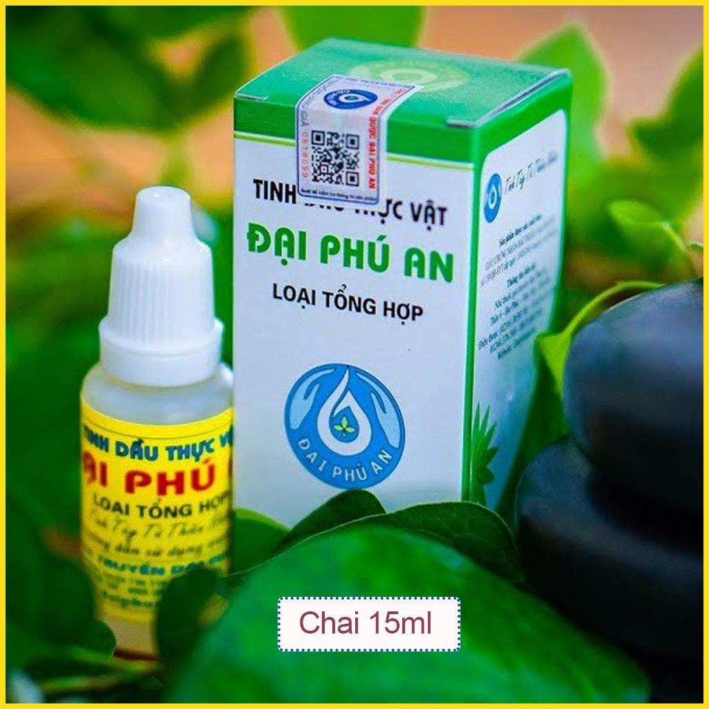 Tinh dầu thực vật Đại Phú An – thần dược của mỗi gia đình