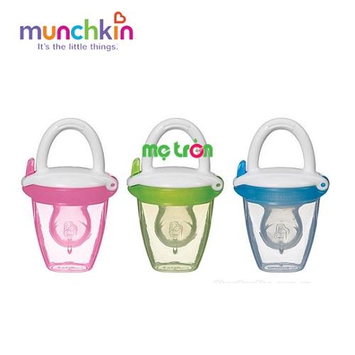 - Túi ăn chống hóc silicone Munchkin MK24182 làm từ chất liệu nhựa cao cấp. - Tay cầm chắc chắn. - Nắp đậy tiện lợi.