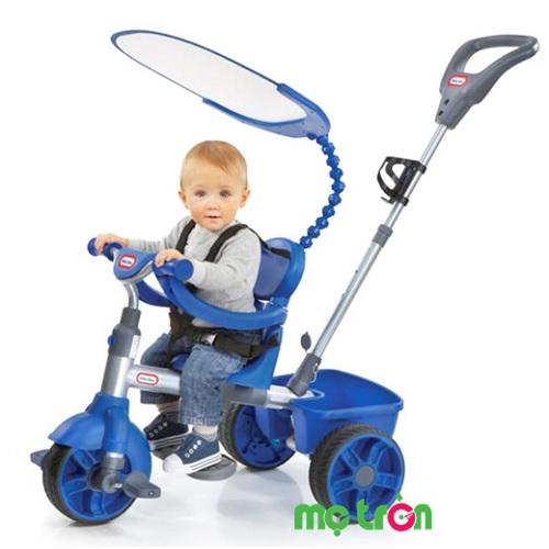 <p>Xe đạp 3 bánh Little Tikes màu xanh navy là dòng xe đạp an toàn nhập khẩu từ Mỹ sử dụng cho trẻ từ 9 tháng tuổi trở lên với những tính năng nổi trội sẽ đồng hành cùng bé trong từng giai đoạn phát triển.</p>