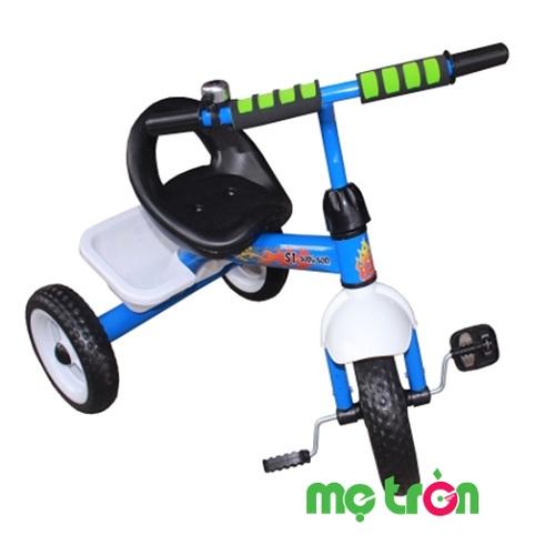 <p>- Xe đạp 3 bánh Song Son được làm từ kim loại và nhựa cao cấp, dày dặn. - Bánh xe to, kết cấu vững chắc đảm bảo an toàn cho bé khi di chuyển. - Thích hợp sử dụng cho bé từ 1 đến 3 tuổi.</p>