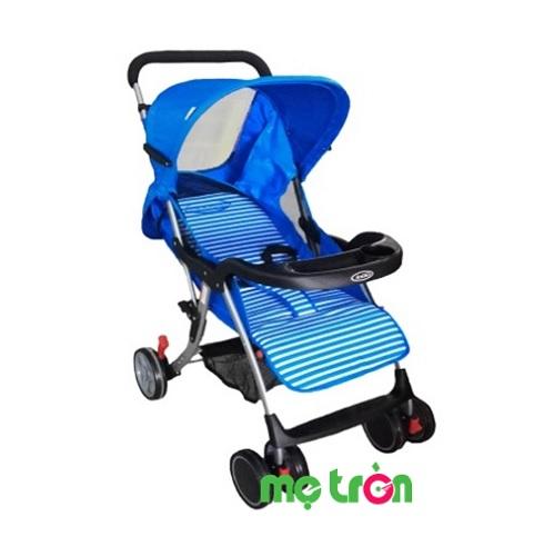 <p>- Xe đẩy em bé 1 chiều Gluck - B6 được làm từ chất liệu cao cấp, rất bền chắc và an toàn. - Mái che thiết kế điều chỉnh được 3 mức độ khác nhau - Thiết kế đẹp mắt với 5 màu khác nhau cho mẹ tha hồ lựa chọn</p>