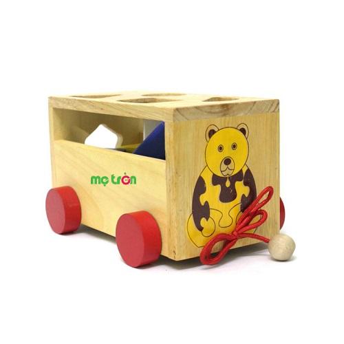 <p>- Sản phẩm làm từ chất liệu gỗ tự nhiên cao cấp, an toàn cho bé</p> <p>- Thiết kế màu sắc bắt mắt</p> <p>- Tập cho bé tính kiên nhẫn.</p>