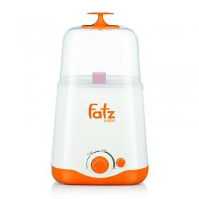 Máy hâm sữa, tiệt trùng bình sữa siêu tốc đa năng Fatzbaby FB3012SL hai bình cổ rộng thế hệ mới