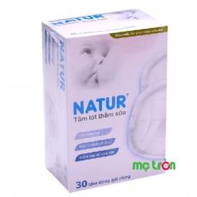 Miếng lót thấm sữa Natur 30 miếng dùng 1 lần